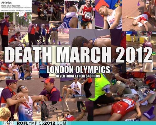 death march London 2012 marathon olympics racewalking - 6503241472