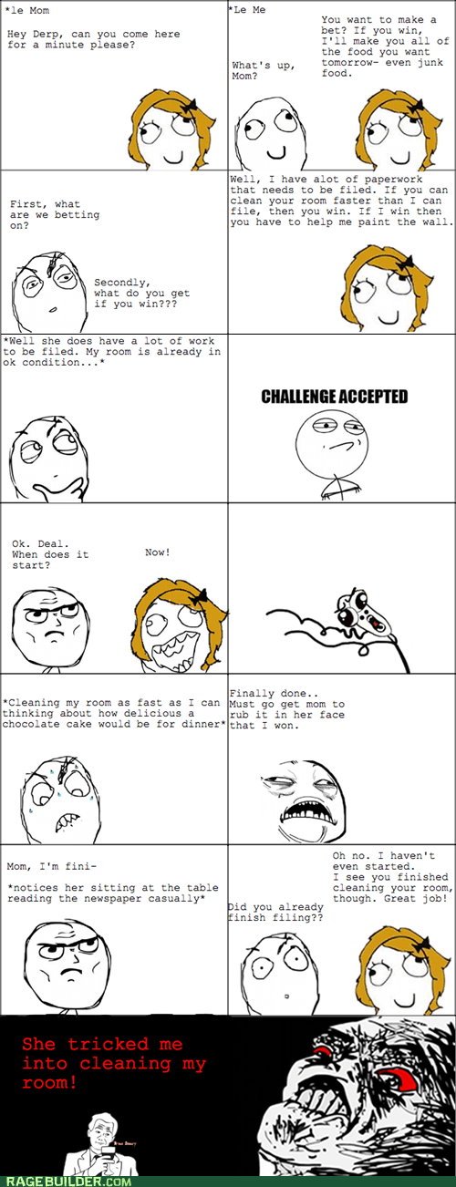 cleaning,parenting,Rage Comics,raisin rage