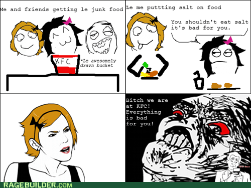 kfc Rage Comics raisin rage sodium - 6503518208