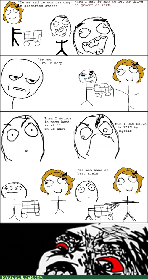are you kidding me cart grocery store Rage Comics raisin rage - 6503731712