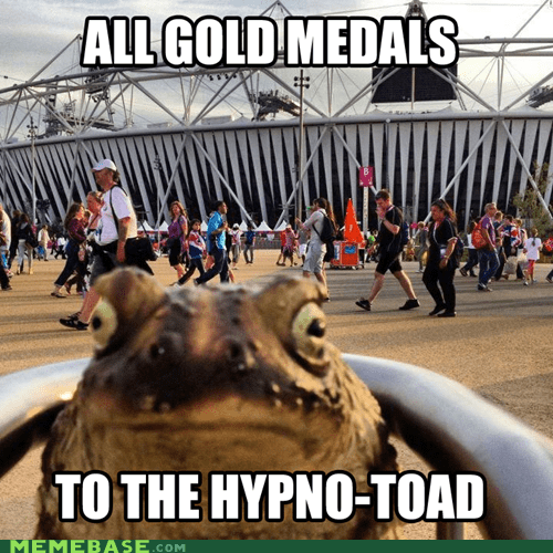 futurama hypnotoad medals Memes olympics - 6503794432