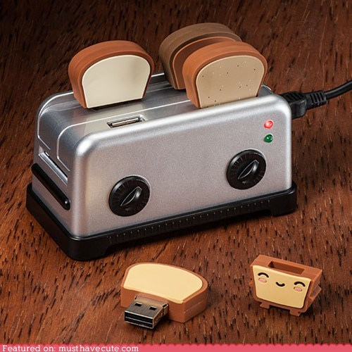 hub thumbdrives toast toaster USB - 6503812864