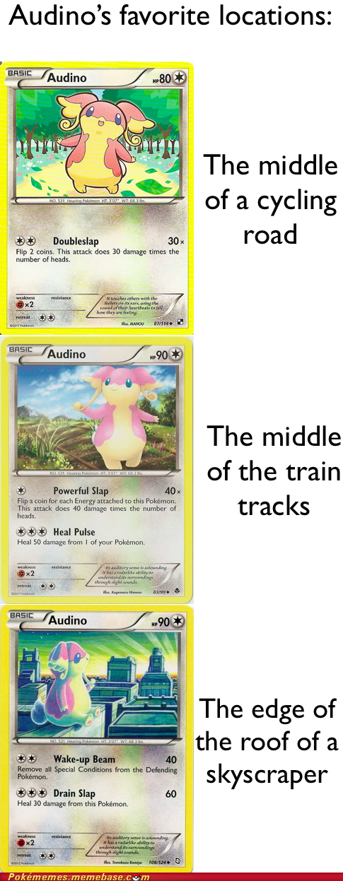 audino dangerous TCG toys-games trading cards