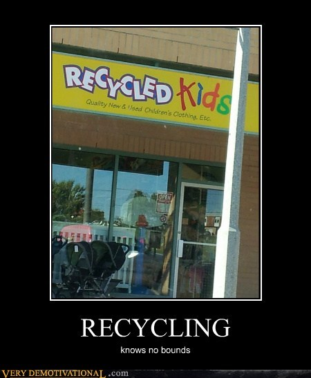 bad idea hilarious kids recycling - 6504107008