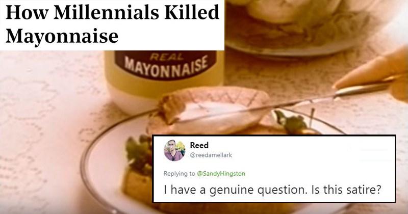 millennials killing mayo