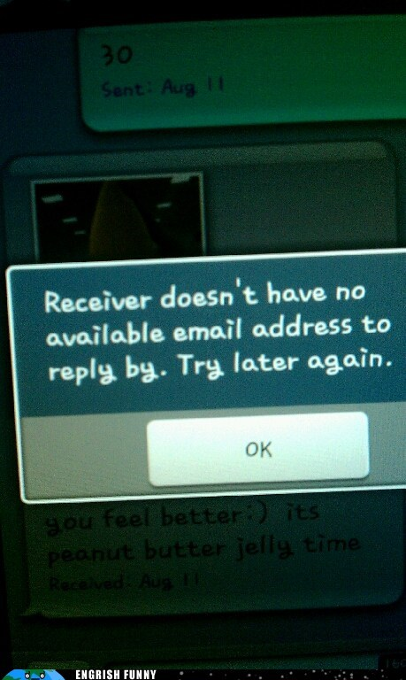 email address,notification,receiver