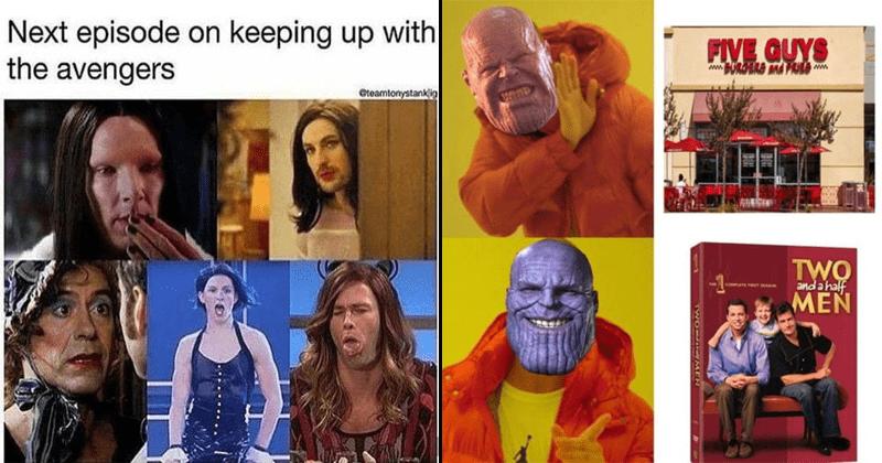 Funny memes, marvel memes, avengers memes.