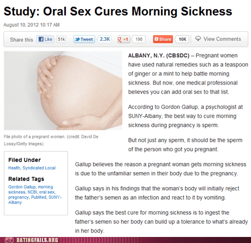 da gallup dating fails gallup morning sickness oral sex solves that problem - 6505031424