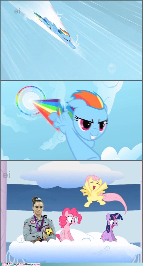 mckayla meme rainboom rainbow dash unimpressive - 6505210880