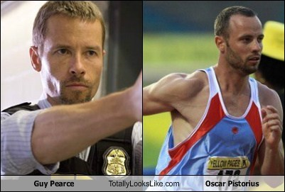 actor,celeb,funny,guy pearce,London 2012,olympics,oscar pistorius,TLL