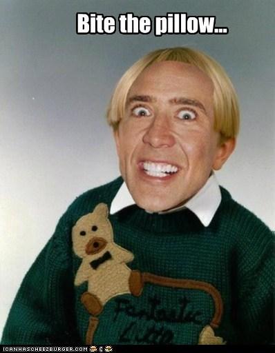 actor celeb creepy funny nic cage nicolas cage shoop - 6505500928