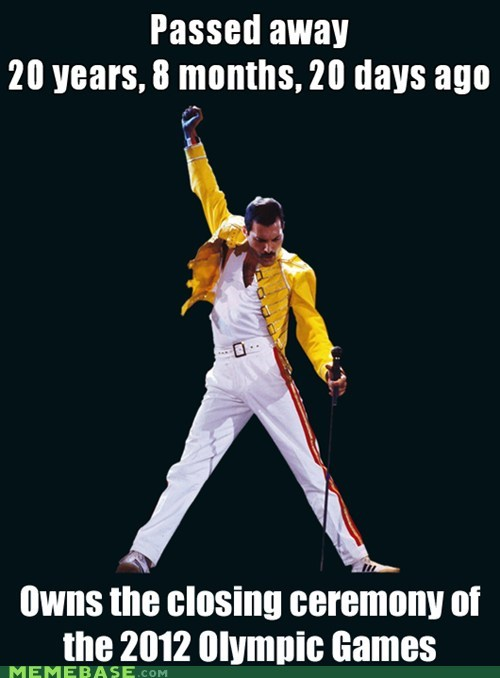 Death,freddie mercury,olympics