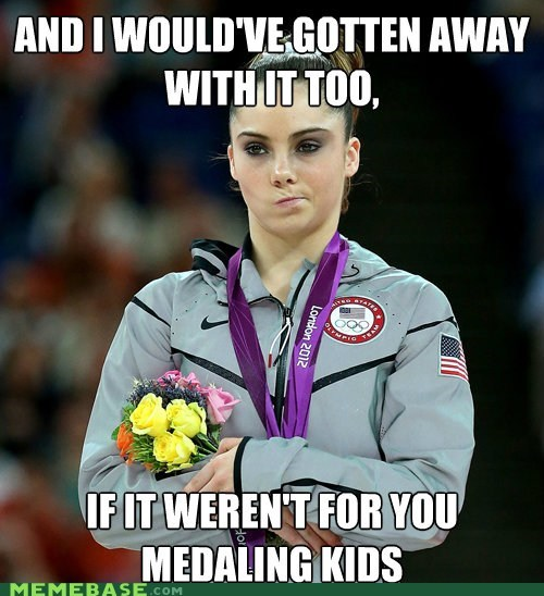 mckayla,medals,meddling kids,Memes,olympics,scooby doo