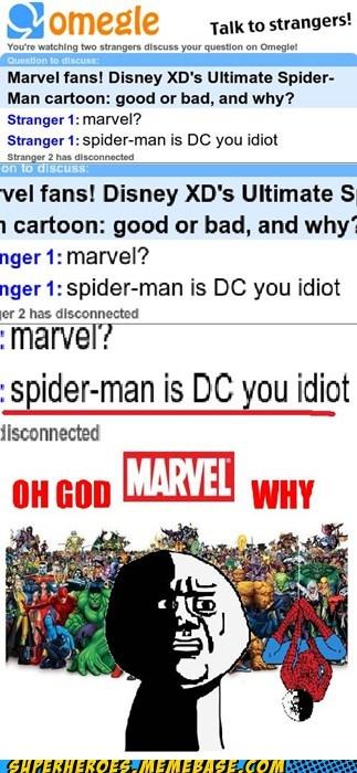 DC,marvel,spider sense,Super-Lols,troll
