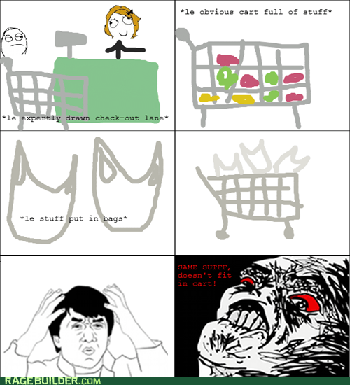 groceries my mind is full of Rage Comics raisin rage wtf jackie - 6507144448