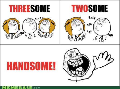 forever alone,handy,Rage Comics,sexytimes