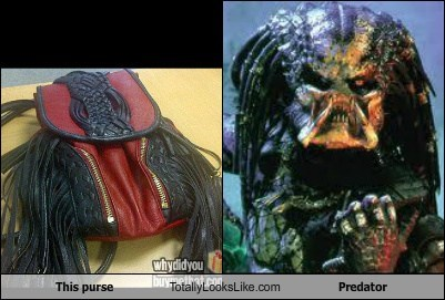 fashion,funny,monster,Predator,purse,TLL