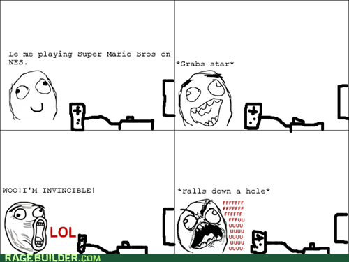 fu guy Rage Comics Super Mario bros video games - 6507426304