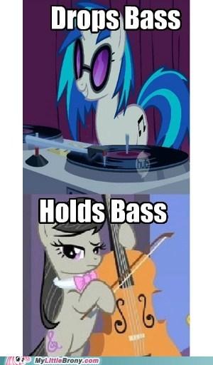 bass meme octavia puns vinyl scratch - 6507442176