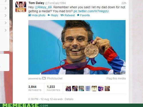 dad medal olympics relevant troll