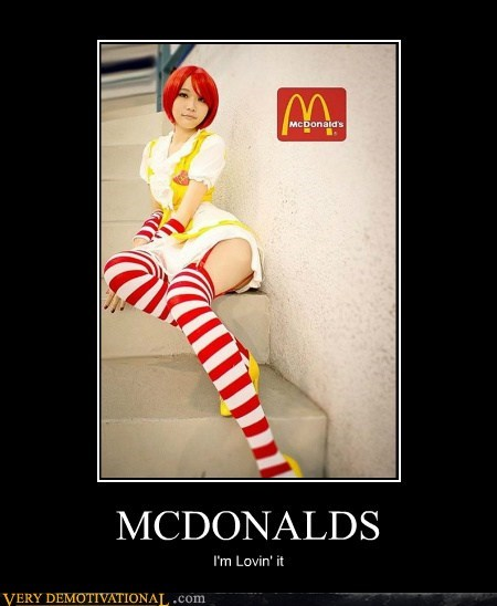 cosplay McDonald's Pure Awesome Sexy Ladies - 6507634944