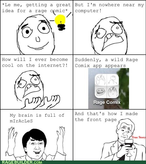 builder mobile Rage Comics rage comix