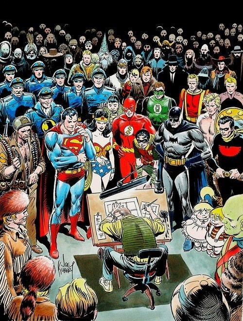 adam kubert,andy kubert,before watchmen,DC,joe kubert,obituary,rip