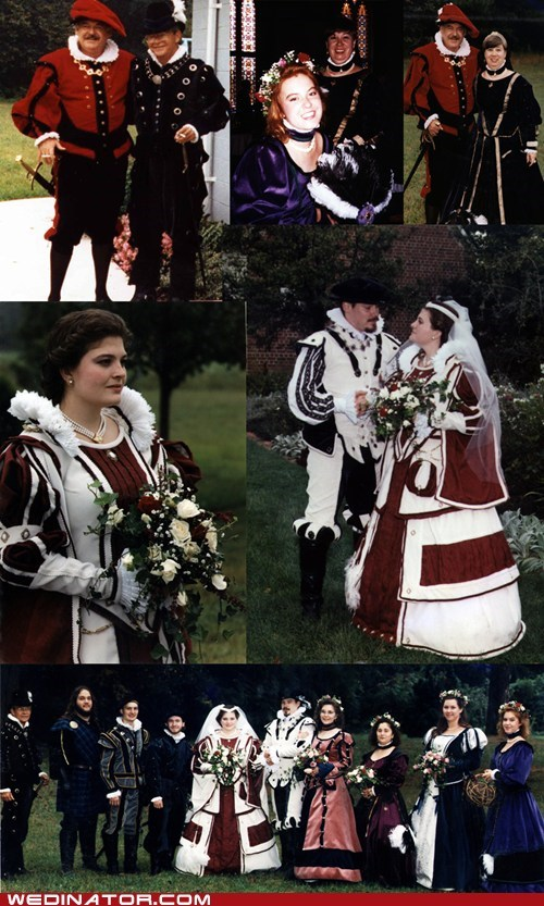 bride funny wedding photos groom medieval renaissance fair renfair - 6507953664