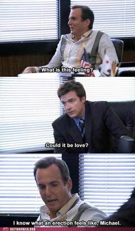 arrested development,erection,GOB,love,michael