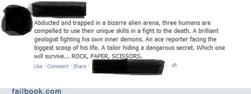movies,rock paper scissors