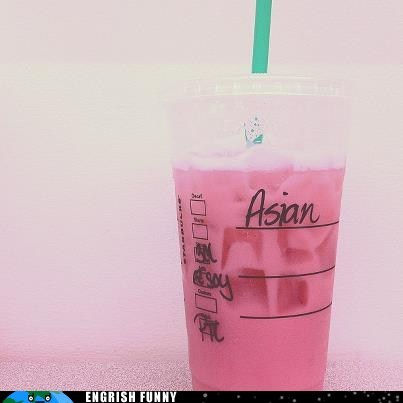 asian,eye color,religion,Starbucks