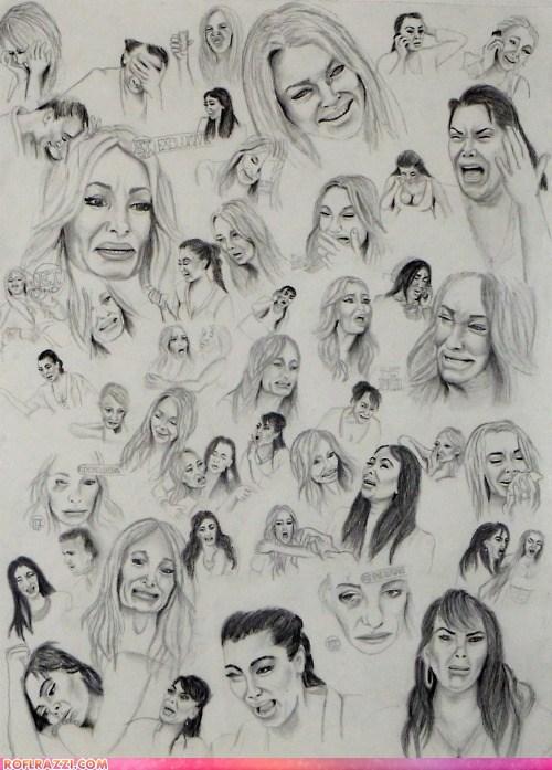 art funny kim kardashian lindsay lohan - 6508124928