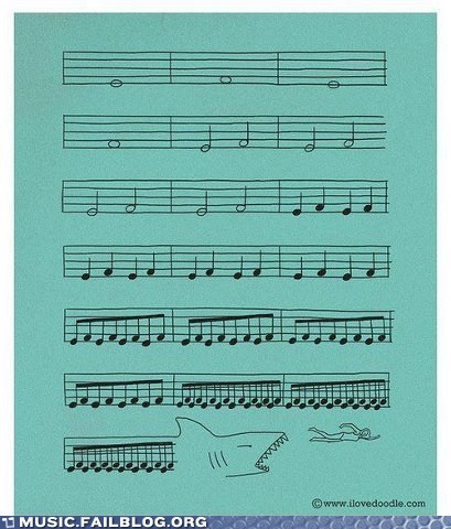 g rated jaws movies Music FAILS shark sheet music - 6508200704