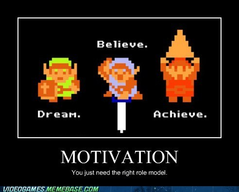 dreams,link,motivation,Role Model,the internets