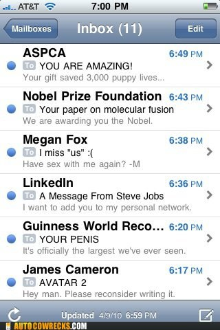 aspca,if only,james cameron,linked in,megan fox,nobel prize