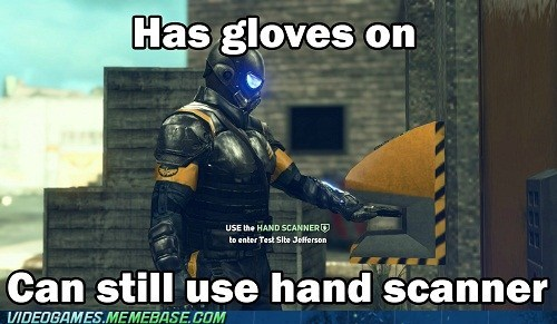 hand scanner meme Prototype 2 video game logic - 6508378112