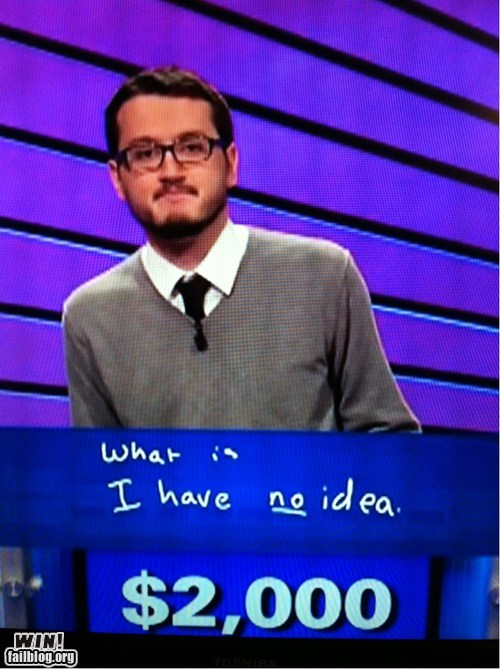 correct game show honesty Jeopardy television - 6508445952