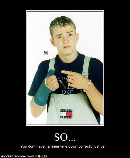90s actor celeb demotivational funny Justin Timberlake Music pop - 6508456960