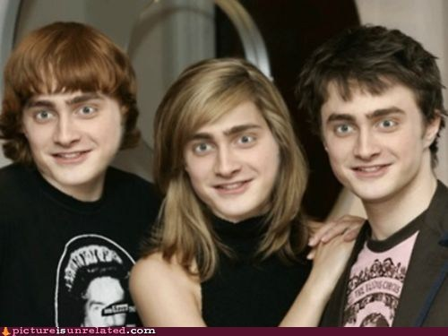 Daniel Radcliffe,nick cage,photoshop,wtf