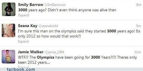 3000 failbook g rated old olympics tweet twitter years