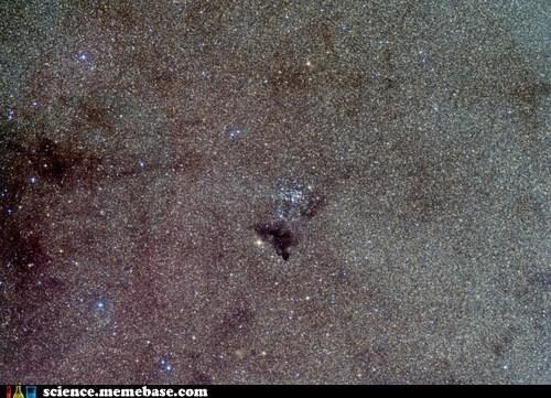 Astronomy,ink spot,nebula,stars