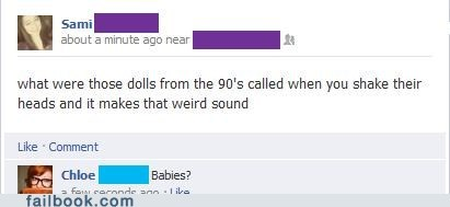 90s Babies baby jokes dolls toys - 6509042688