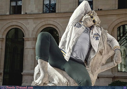 bro classic g rated poorly dressed statue - 6509094656