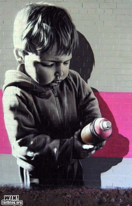 art graffiti hacked irl Street Art - 6509103872