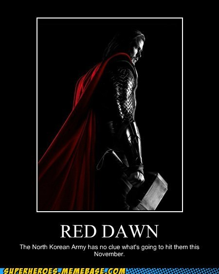 red dawn Super-Lols Thor wolverine - 6509369600