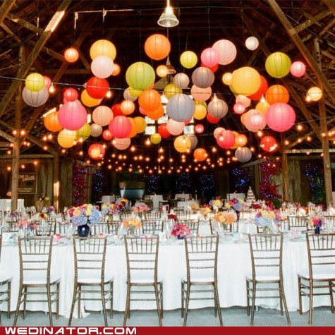 dinner funny wedding photos just pretty lanterns table - 6509370624