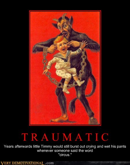 circus kid Terrifying trauma - 6509527552