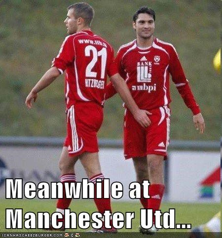 Meanwhile At Manchester Utd Cheezburger Funny Memes Funny Pictures