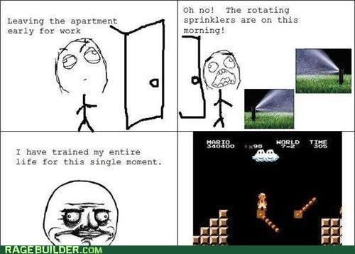me gusta,sprinklers,video games
