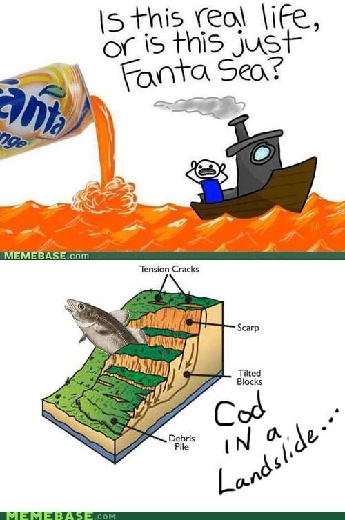 basememian rhapsody bohemian rhapsody cod fanta landslide Memes sea - 6510452736
